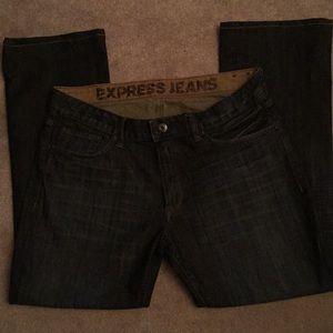 Express Slim Boot cut 34 x 30 Jean
